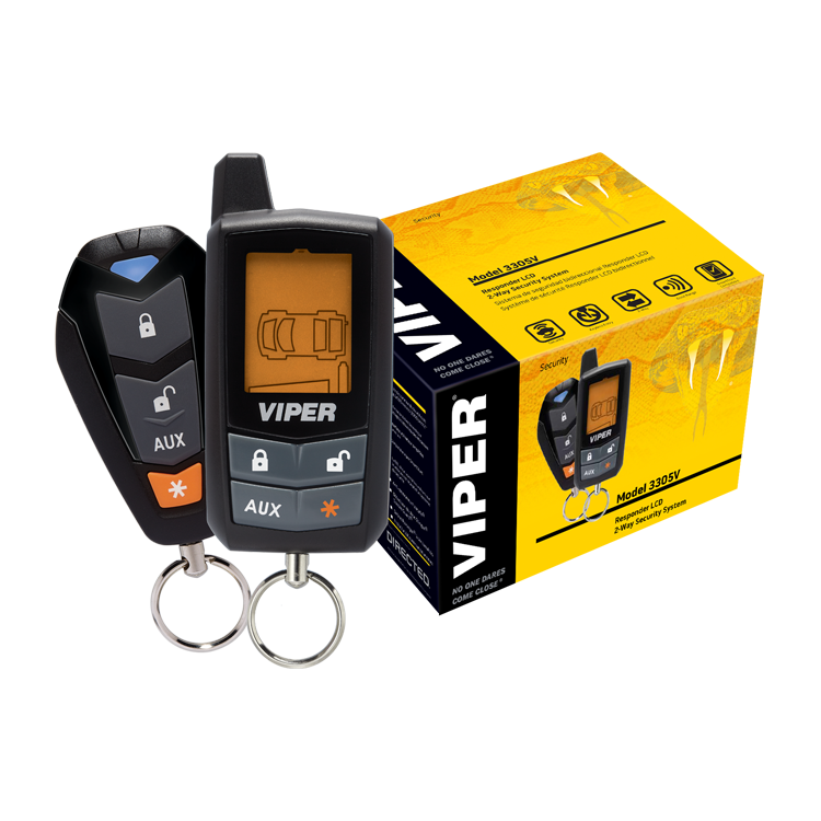 Viper LCD 2-Way Vehicle Security System